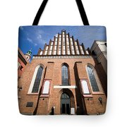 St. John Archcathedral In Warsaw Tote Bag