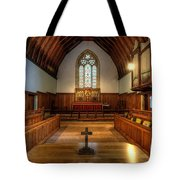 St John's Church Altar - Filey  Tote Bag