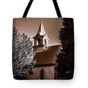St. John's Lutheran Church In The Trees Tote Bag