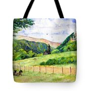 St. Kevin's And Wicklow Mountians Tote Bag