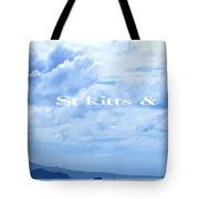 St Kitts And Nevis Poster Tote Bag