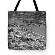 St. Louis Arch Construction Tote Bag