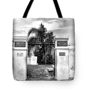 St Louis Cemetery Gate - New Orleans Tote Bag