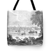 St. Louis, Missouri, 1854 Tote Bag