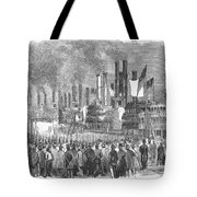 St. Louis: Steamboats, 1857 Tote Bag