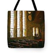 St Malo Church Tote Bag