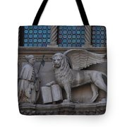St. Marco And The Lion Tote Bag