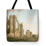 St Mary's Abbey -york Tote Bag