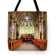 St. Mary's Basilica Halifax Tote Bag