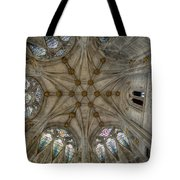St Mary's Ceiling Tote Bag