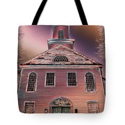 St. Mary's Episcopal Church In Pastel Tote Bag
