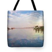 St Michaels Harbor Tote Bag