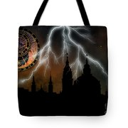 St Nikolas Church - Prague Tote Bag by Michal Boubin