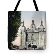 St Paul And St Peter Cathedrals In Kiev - Ukraine - Ca 1900 Tote Bag