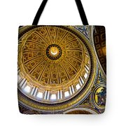 St Peter's Basilica Dome  Tote Bag