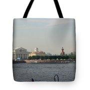 St Petersburg And River Neva - Russia Tote Bag