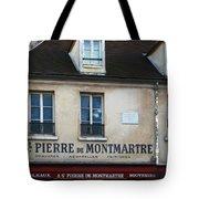 St Pierre De Montmartre Paris Scene Tote Bag