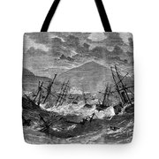 St. Thomas: Hurricane, 1867 Tote Bag