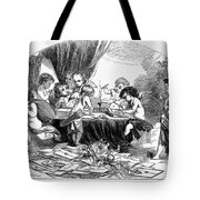 St. Valentines Day, 1856 Tote Bag