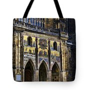 St Vitus Cathedral Entrance Tote Bag