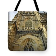 St Vitus Cathedral Prague - The Realms Of 'non-being' Tote Bag