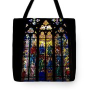 St Vitus Cathedral Stained Glass Tote Bag