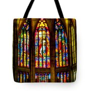 St Vitus Main Altar Stained Glass Tote Bag