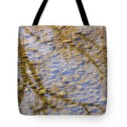 St Vrain River Reflection Tote Bag