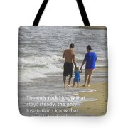 Stability Of Family Tote Bag