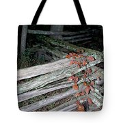 stacked Fence Tote Bag