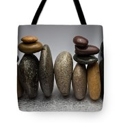 Stacked River Stones Tote Bag