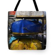 Stacked Trio Of Colors Tote Bag