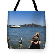 Stacking Rocks And Ferry Tote Bag