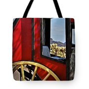 Stagecoach View Tote Bag