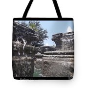 Staggered Tiers Tote Bag