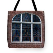 Stained Glass At St Paul Tote Bag