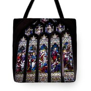Stained Glass - Bath Abbey Tote Bag