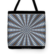 Stained Glass Kaleidoscope 32 Tote Bag