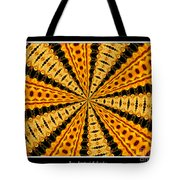 Stained Glass Kaleidoscope 37 Tote Bag