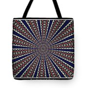 Stained Glass Kaleidoscope 49 Tote Bag