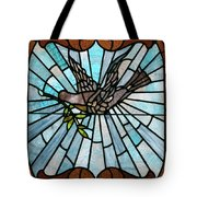 Stained Glass Lc 14 Tote Bag