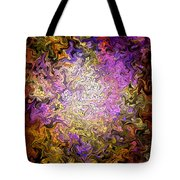 Stained Glass Mosaic Tote Bag