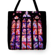Stained Glass Window II Tote Bag
