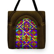 Stained Glass Window In Mezquita Tote Bag