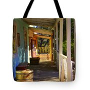 Stained Shadows Tote Bag