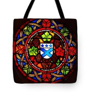 Stained Switzerland Window Tote Bag