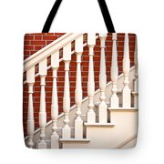 Stair Case Tote Bag by Tom Gowanlock
