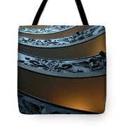 Staircase At The Vatican Tote Bag by Bob Christopher