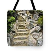 Staircase To Eagle Falls Lake Tahoe Tote Bag