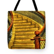 Stairs Hdr Processing Tote Bag